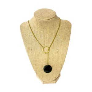 Fair trade necklace ethically handmade by artisans in East Africa.